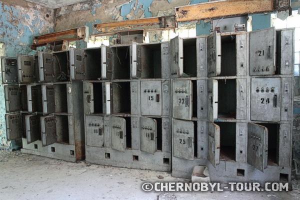 Камеры хранения на Припятском автовокзале